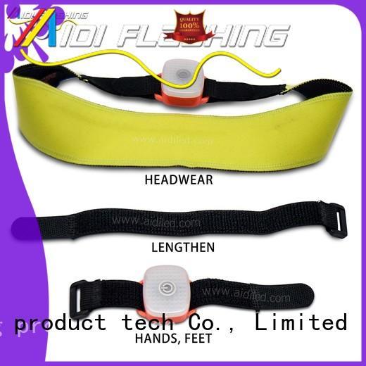 neon sweatbands personalized for woman AIDI