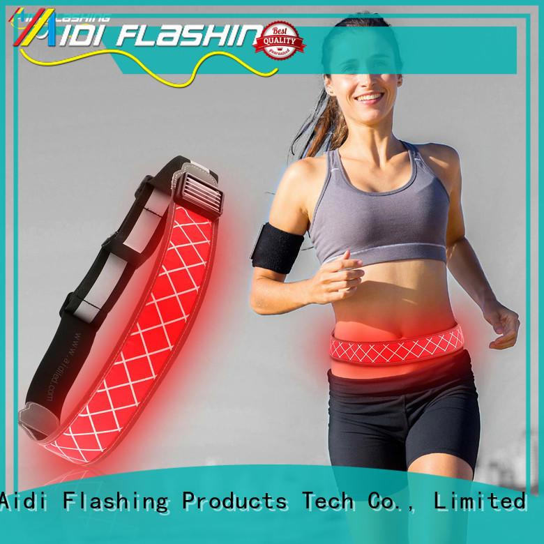 AIDI green reflective waist belt customized for woman