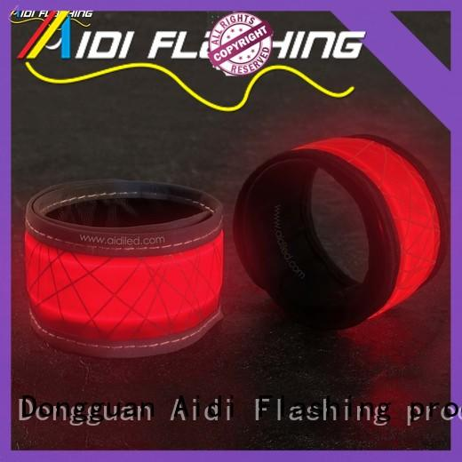 AIDI durable light up slap bracelets for sports