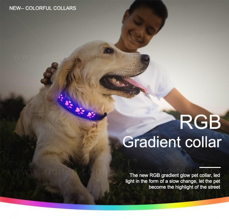 AIDI dog collar lights waterproof with good price for pet-1