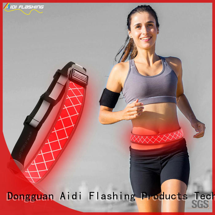 AIDI led waist belt directly sale for woman