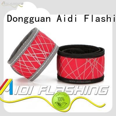 clip light up slap bracelets AIDI