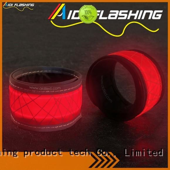 red led slap bracelet bulk magnet for adults AIDI