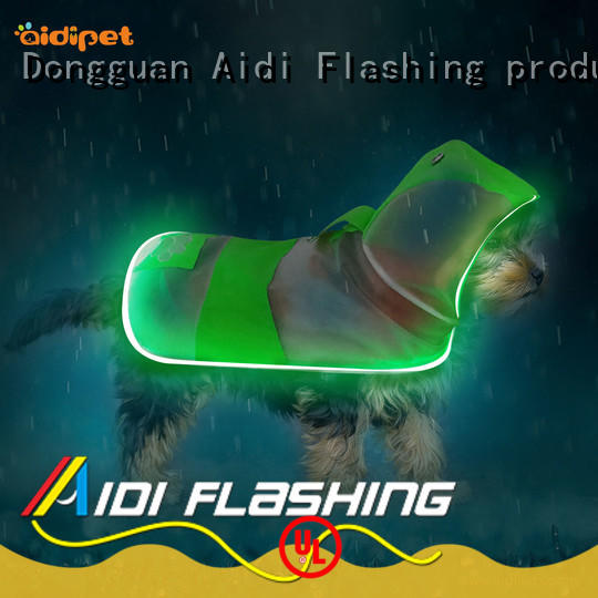 led dog harness manufacturer for street AIDI