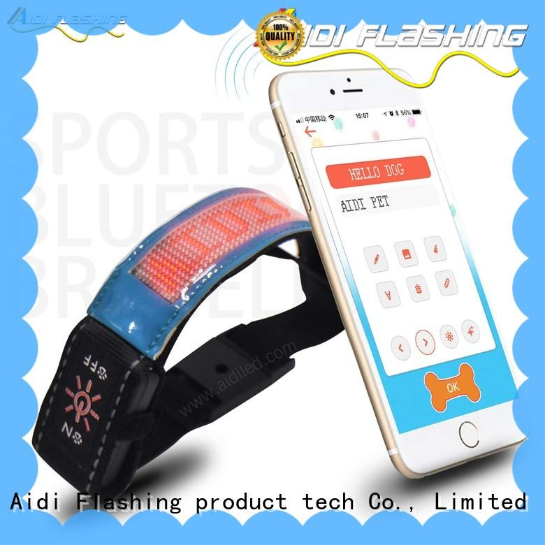 AIDI durable light up armbands from China for woman