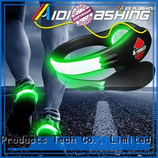 adjustable led shoe clip lights factory for sports
