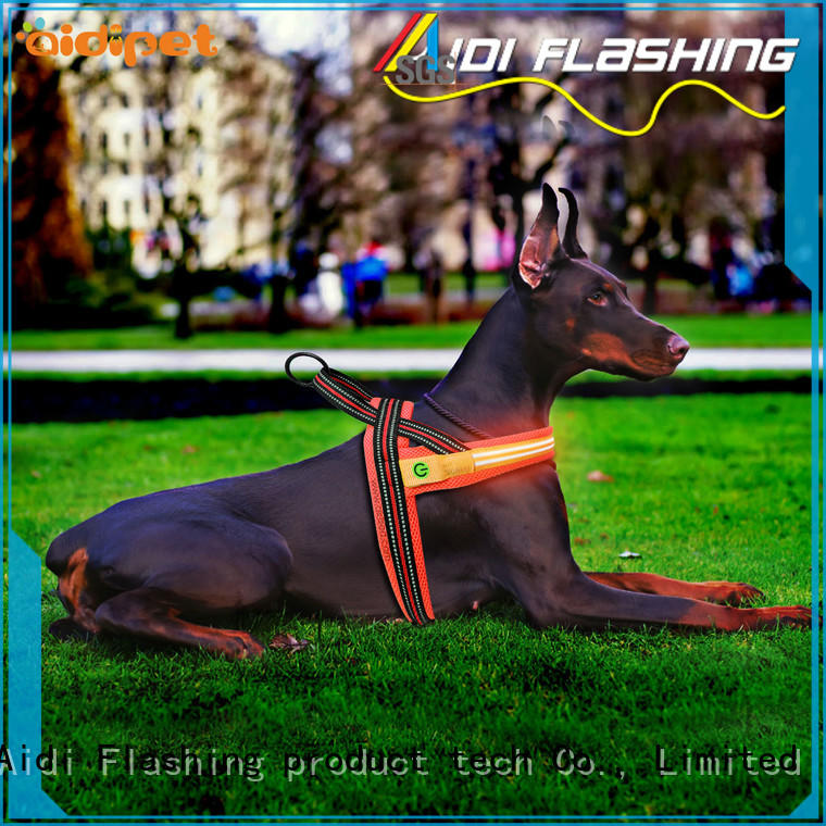 double led dog harness series for pet