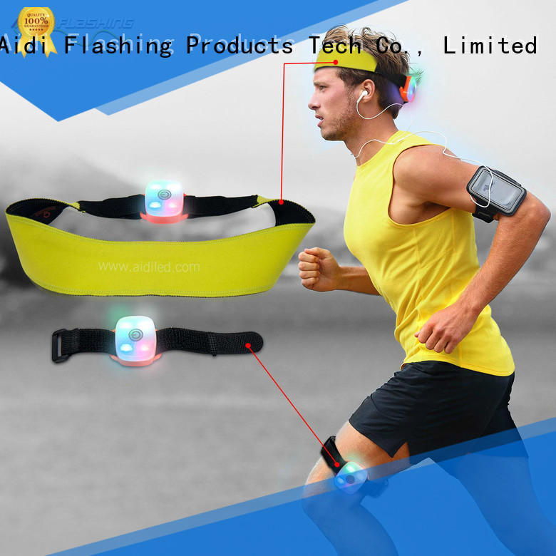 comfortable led sweatband factory price for sports