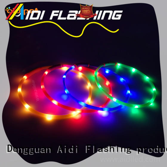 waterproof lighted dog collars super for outdoors AIDI