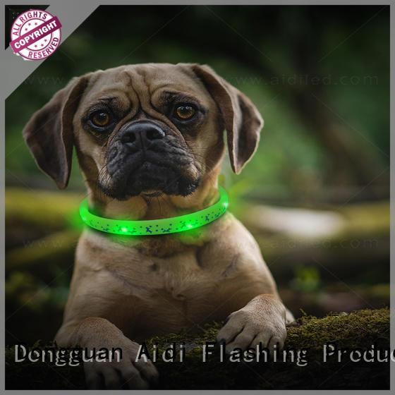 AIDI filament lightning dog collar design for outdoors