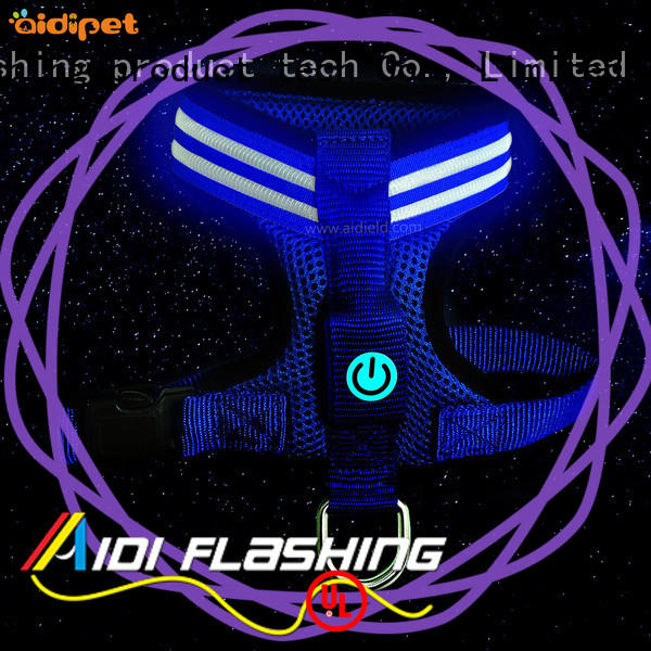 reflective led dog harness from China for street