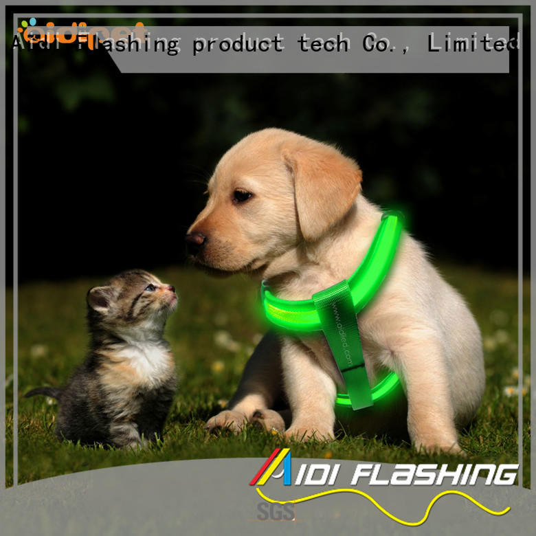 AIDI led harness for small dogs series for pet