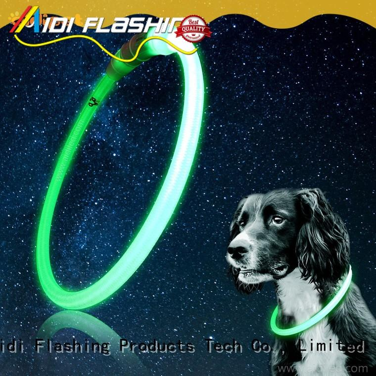remote led dog safety collar factory for park