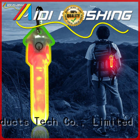 durable clip on running light factory price for sports