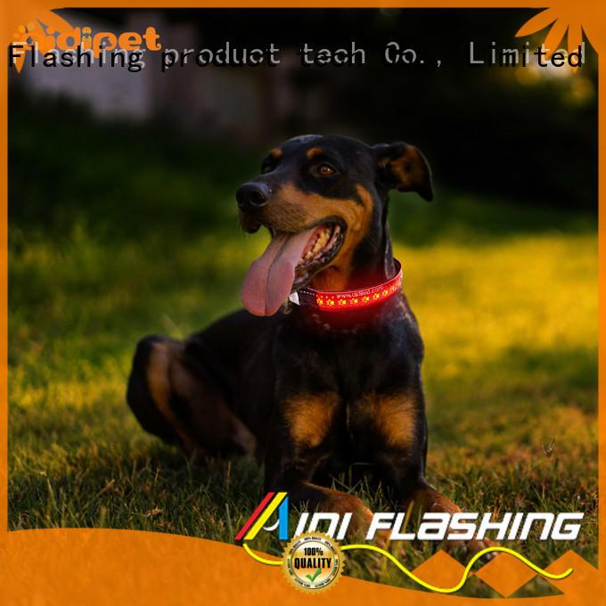 AIDI-C14 Rechargeable Flashing Led Dog Collar
