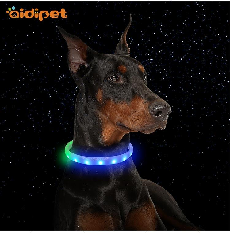 christmas dog collar strobe light AIDI