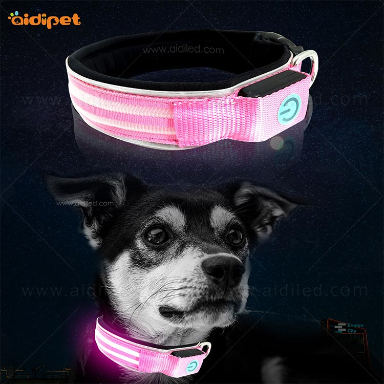 AIDI rechargeable dog collar light inquire now for outdoors-12