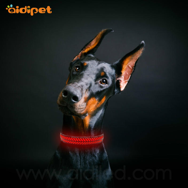 AIDI-C14 Rechargeable Flashing Led Dog Collar Safety Light
