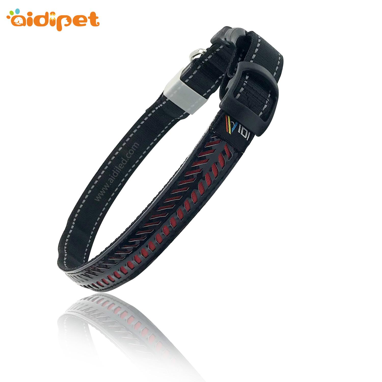 AIDI-AIDI-C14 Rechargeable Flashing Led Dog Collar Safety Light-2