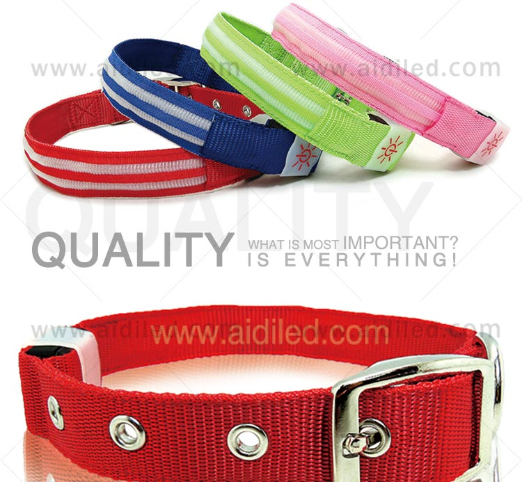 lite up dog collars for outdoors AIDI-6