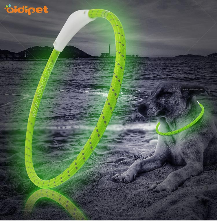 AIDI filament led dog collar waterproof design for pet-12