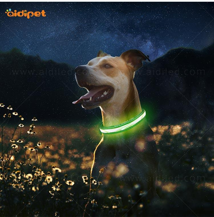 AIDI-C12 LED shining dog collar/leash cover