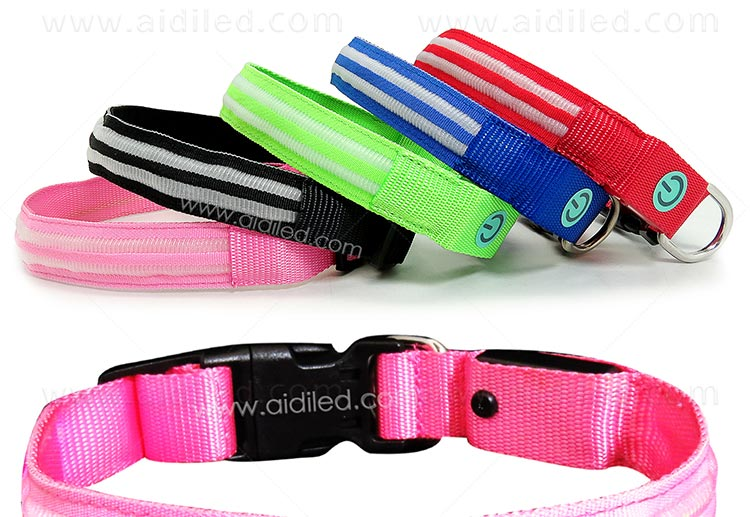 AIDI-High-quality Flashing Dog Collar | Custom LED Dog Collar-5