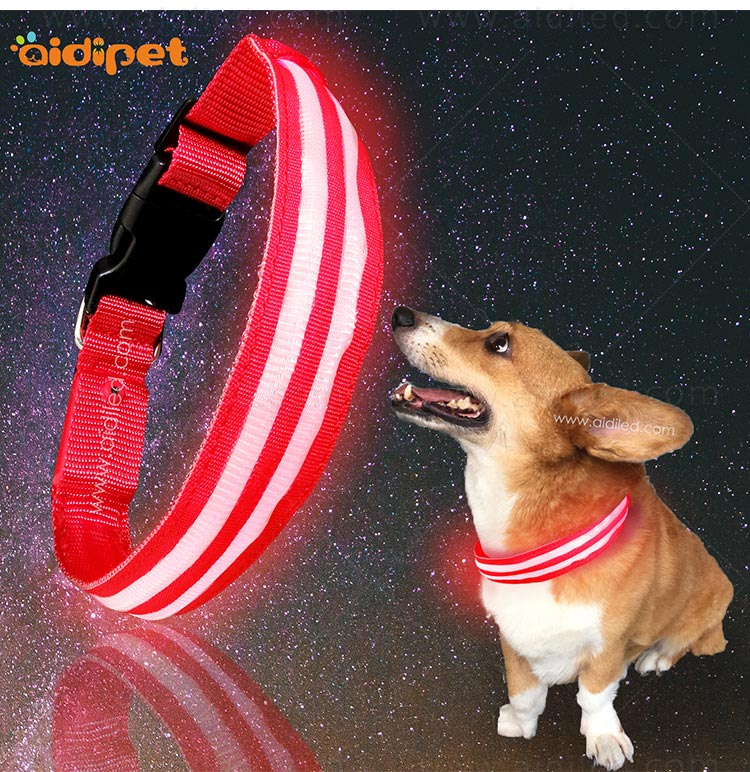 AIDI-High-quality Flashing Dog Collar | Custom LED Dog Collar-7