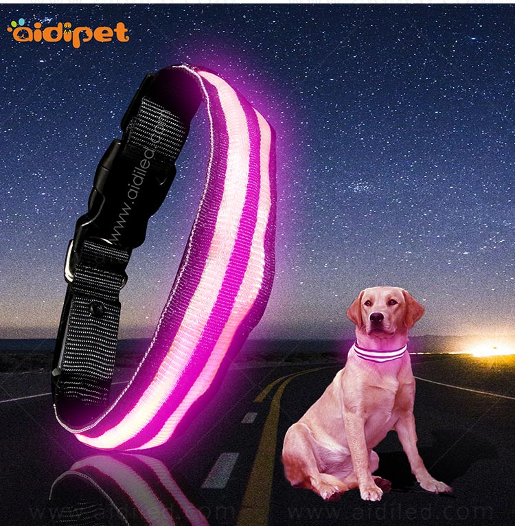 AIDI glow in the dark dog collar factory for outdoors-10