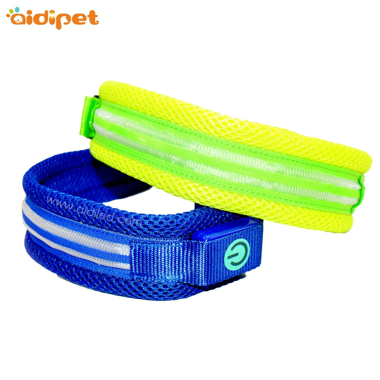 AIDI silicone dog collar led flashing light with good price for pet-6