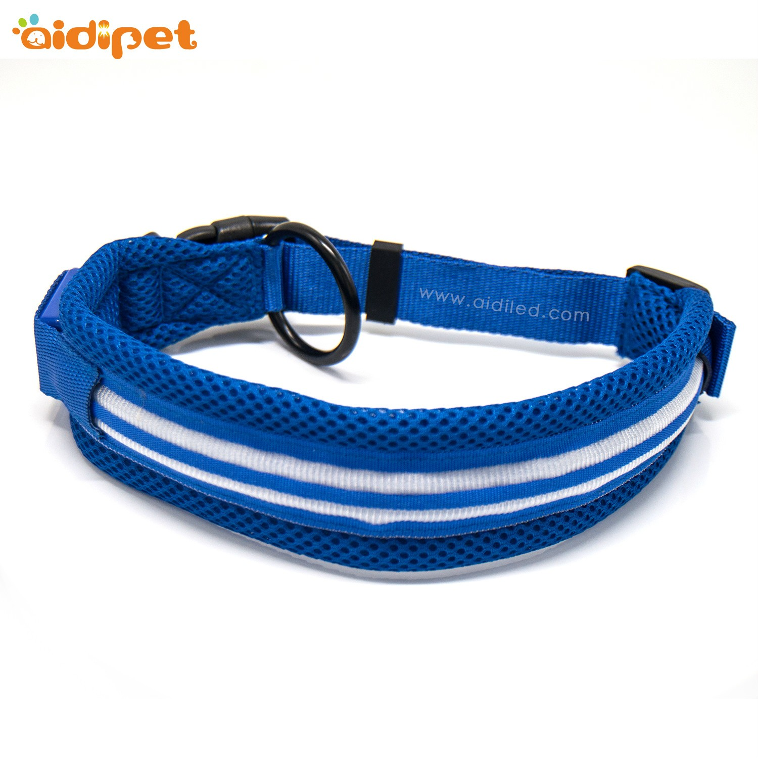 AIDI silicone dog collar led flashing light with good price for pet-7