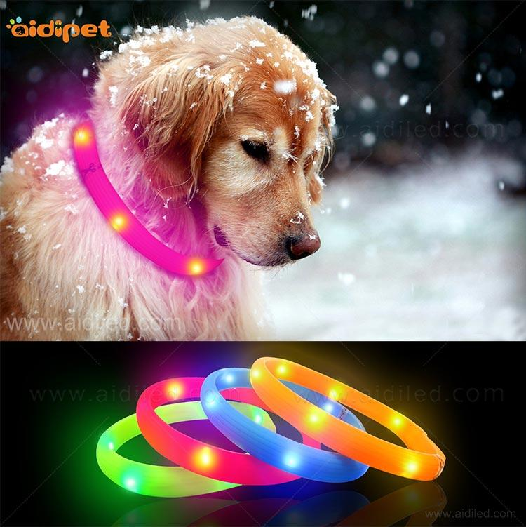 AIDI led dog collar factory for pet