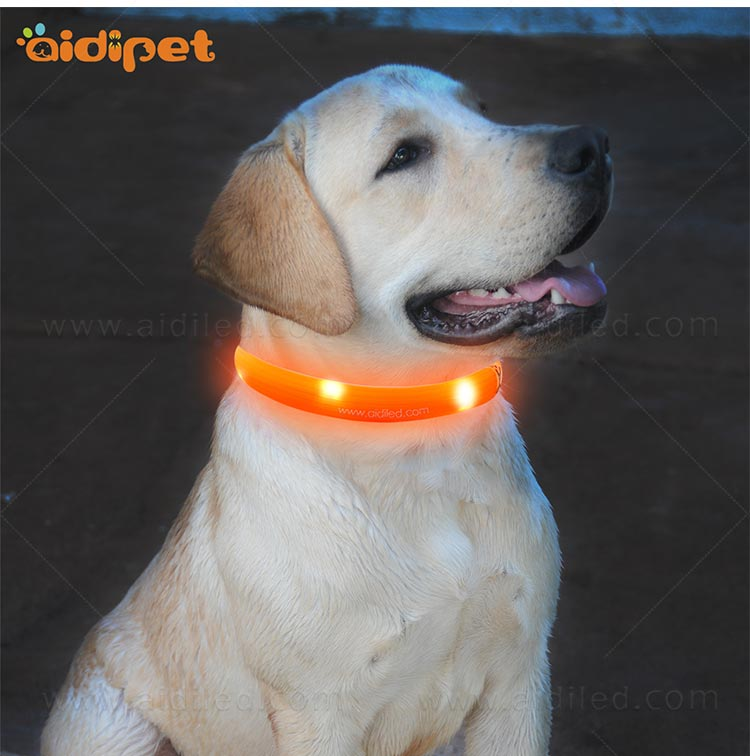 AIDI-Led Light Up Dog Collar Led Fashionable Dog Collar-12