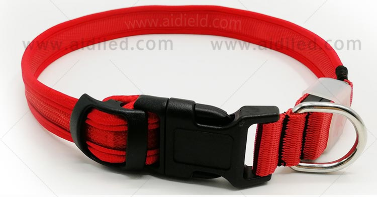 AIDI-C27 Colorful Dog Collar Led Flashing Light-5