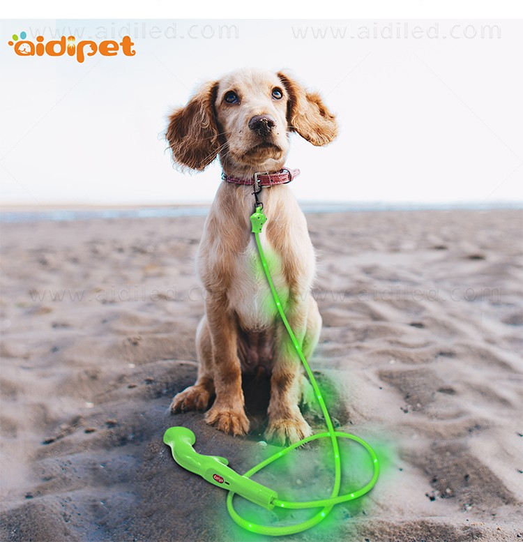 flat light up dog leash with good price for outdoors-10