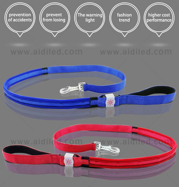 light up dog leash factory for pet-6