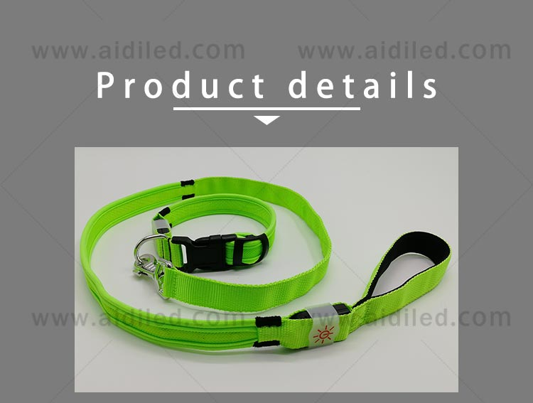 light up dog leash factory for pet-8
