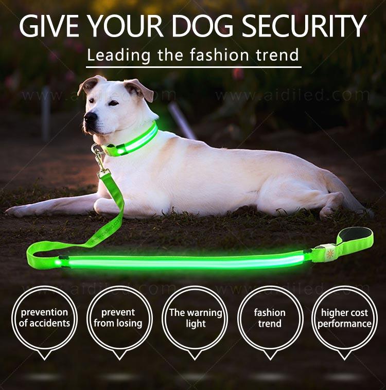AIDI-Reflective Dog Leash, Identification Of Product:ah1 2018 New Style-2