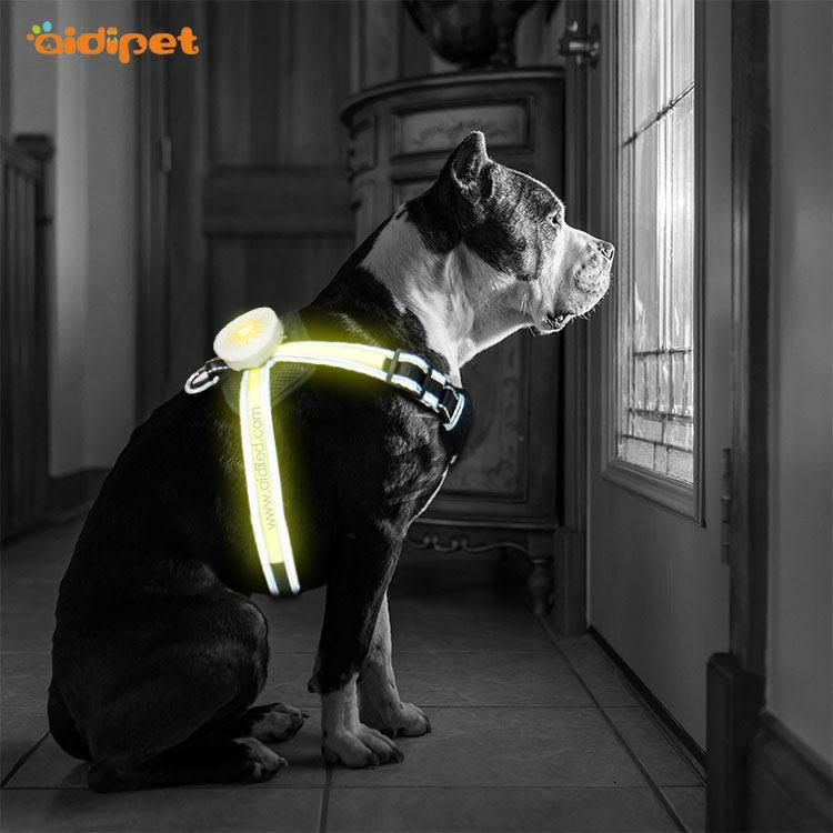 Led dog harness AIDI-H7
