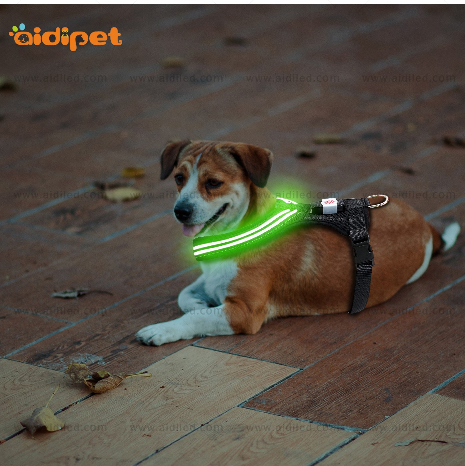 AIDI light up dog harness manufacturer for outdoors-10