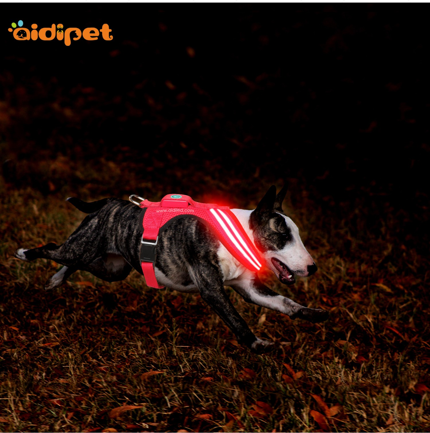 AIDI light up dog harness manufacturer for outdoors-9