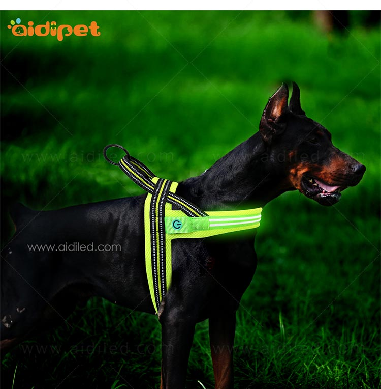 AIDI-Find Illuminated Dog Harness Wholesale Dog Harness Vest-8