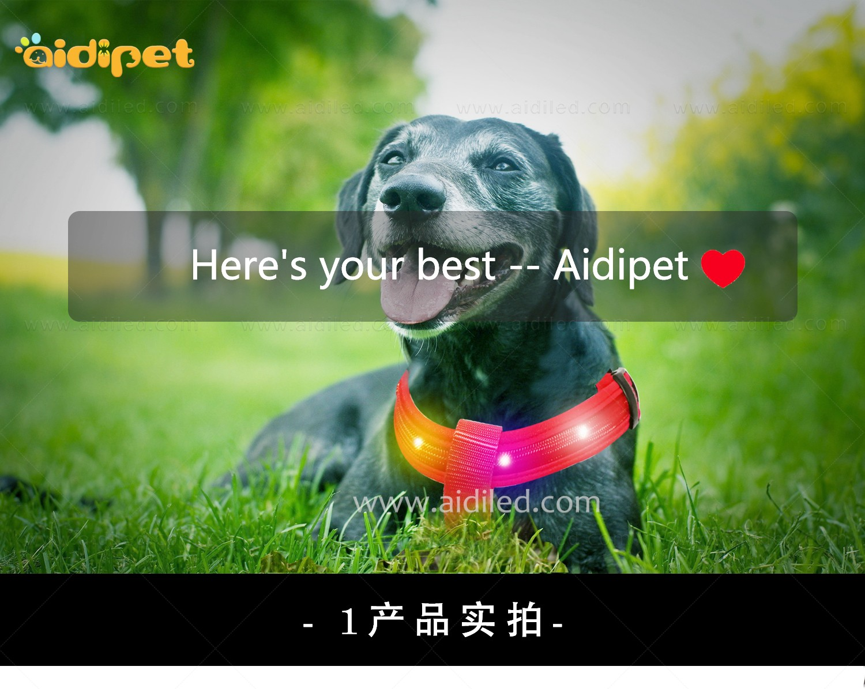 AIDI-Led Dog Harness   Colorful Soft Rechargeable Led Dog Harness-2