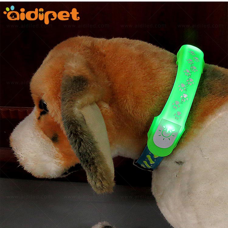 AIDI-Professional Pet Collar Accessories Flashing Dog Collar Light-8