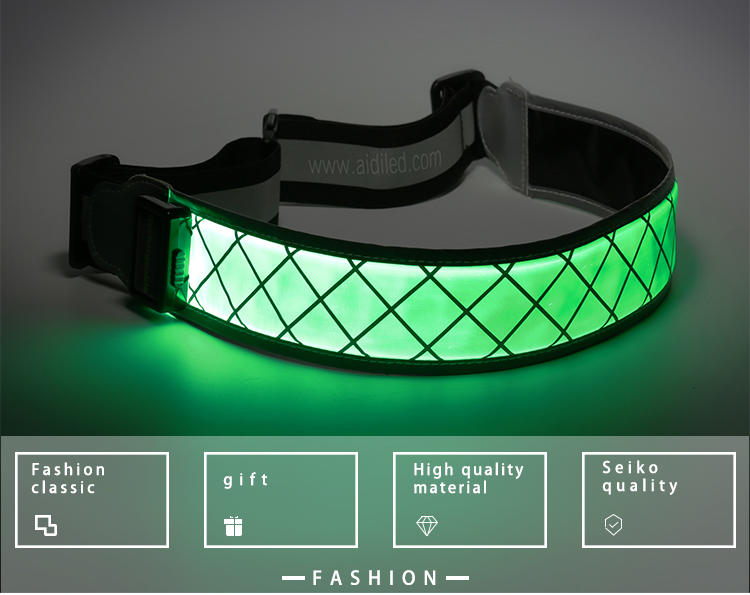 Outdoor sport Led waist belt for safety (for adults) AIDI-S12