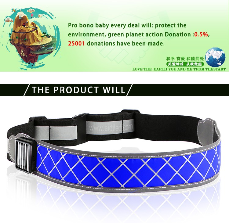 AIDI-Find Led Waist Belt Led Outdoor Sport Waist Belt For Safety-1