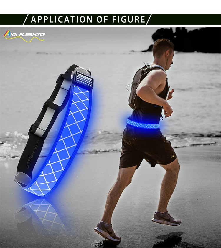 AIDI-Find Led Waist Belt Led Outdoor Sport Waist Belt For Safety-5