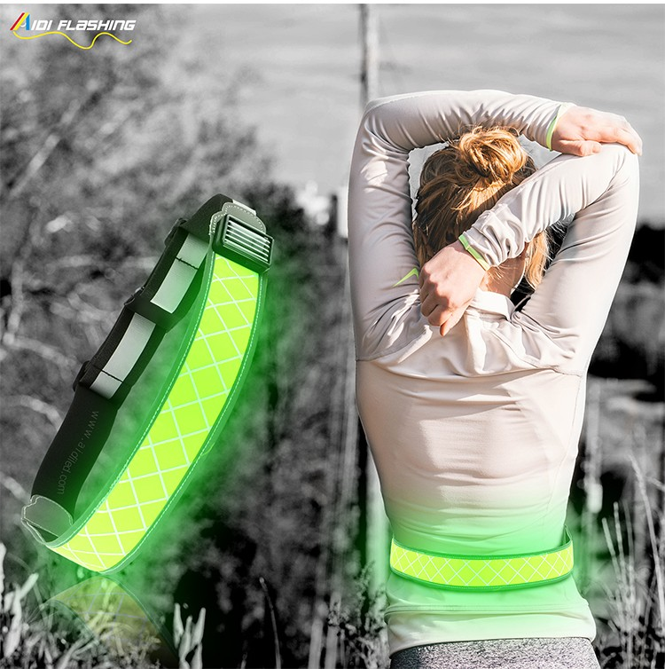 AIDI-Find Led Waist Belt Led Outdoor Sport Waist Belt For Safety-6