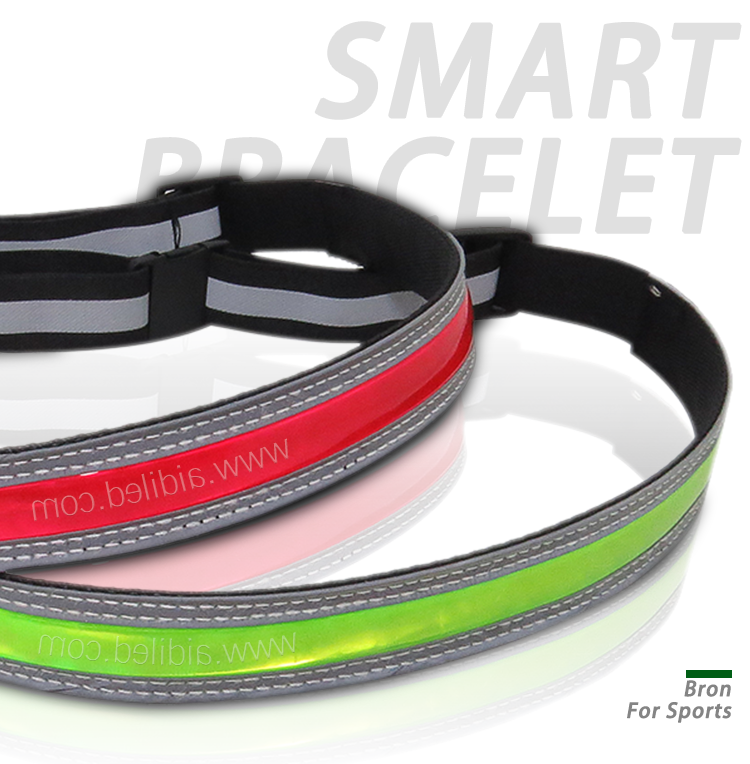 green reflective belt manufacturer for sports AIDI