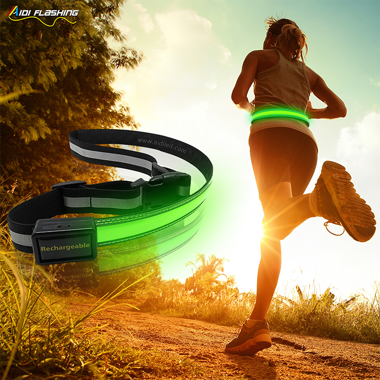 AIDI-Best Fitness Waist Belt Led Outdoor Sport Waist Belt for Children-4